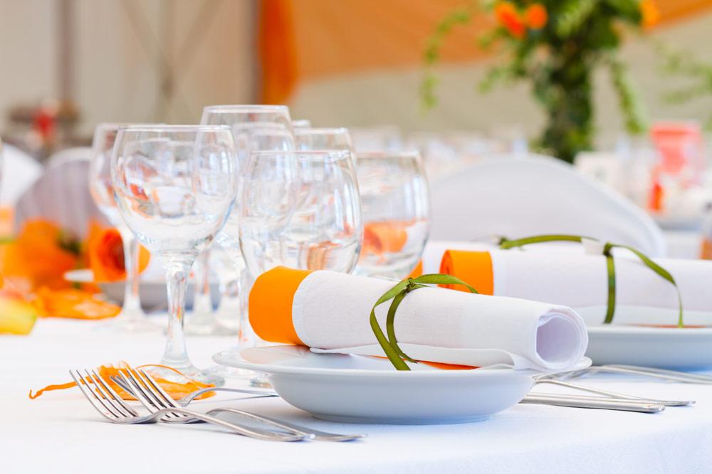 Orange Themed Linen