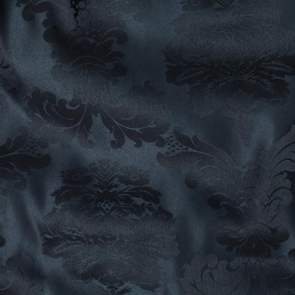 108r navy bentley damask linen