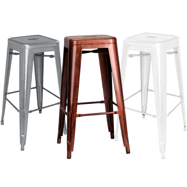 bistro bar stool hire all colours