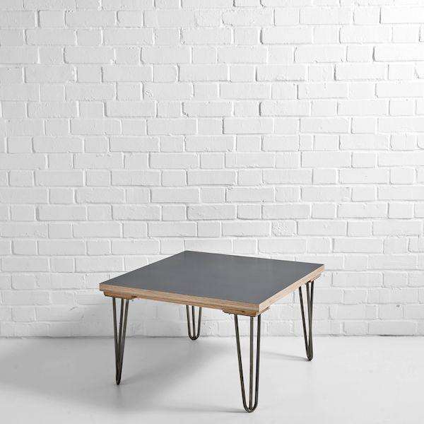 black scandi side table