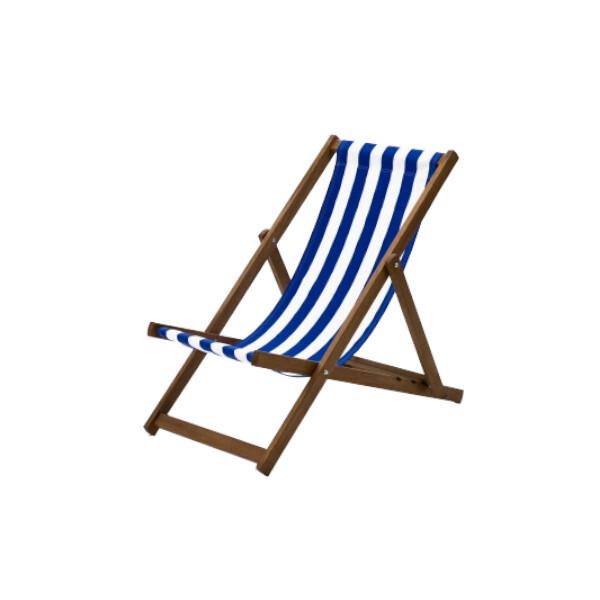 blue deck chair hire