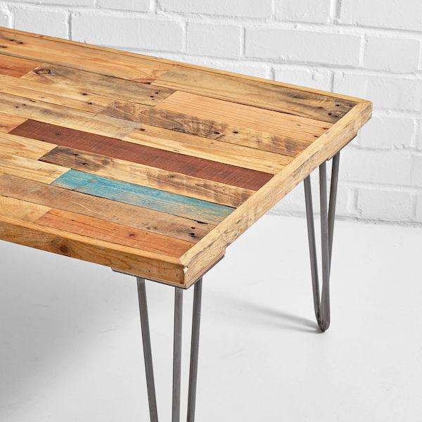 bodrum pallet coffee table close