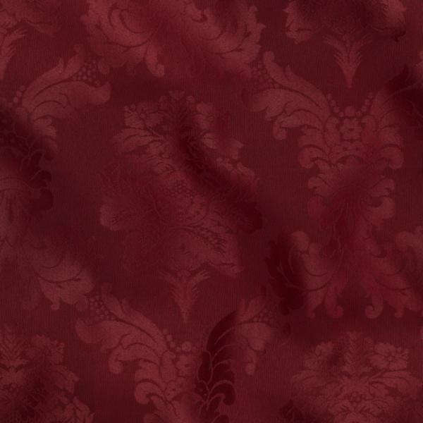 burgundy bentley damask linen 108r