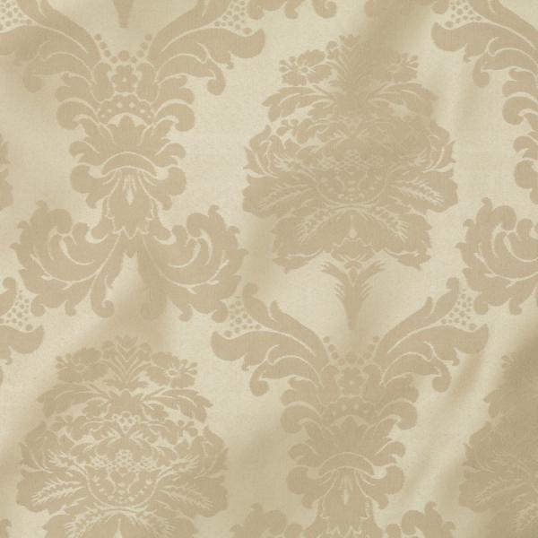 cream bentley damask linen 130r