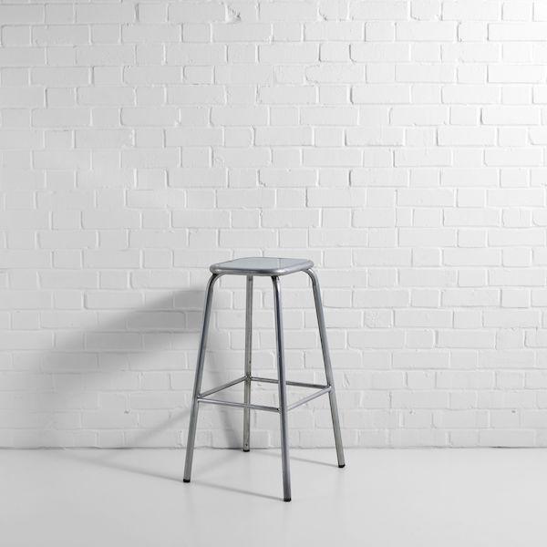 distressed lab stool hire