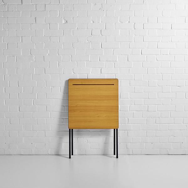 exam desk hire folded