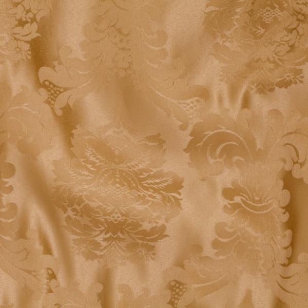 gold bentley linen 70x144