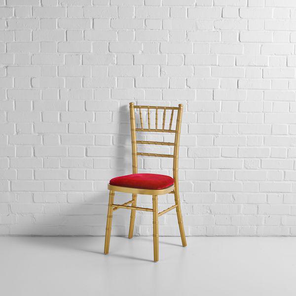 gold chiavari chair front