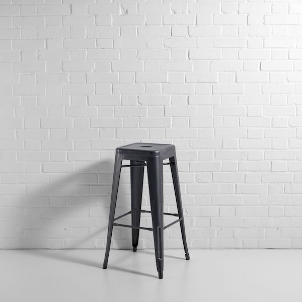grey bistro bar stool