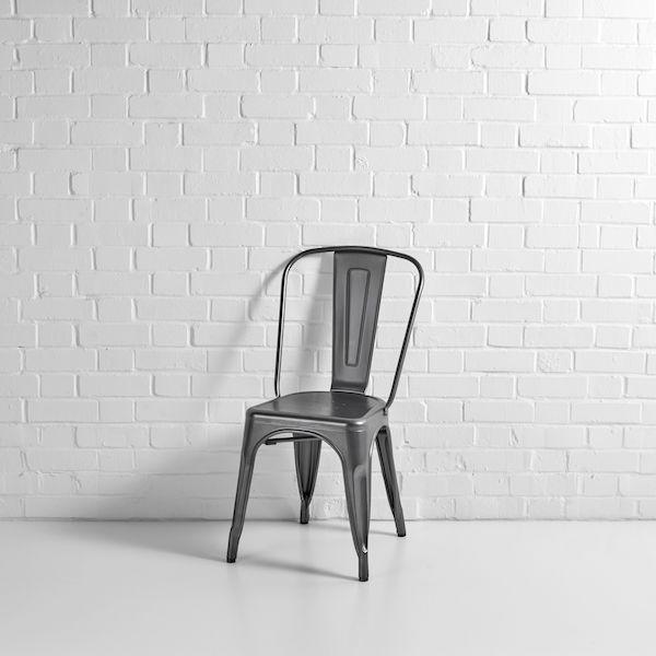 grey tolix chair hire