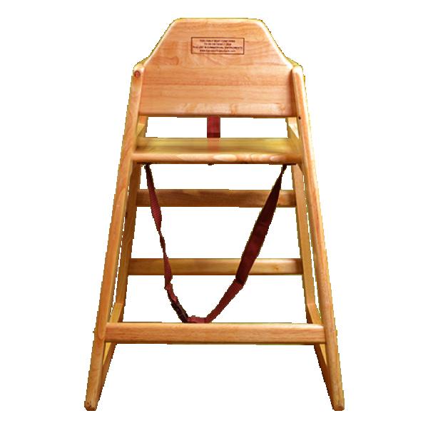 high chair back