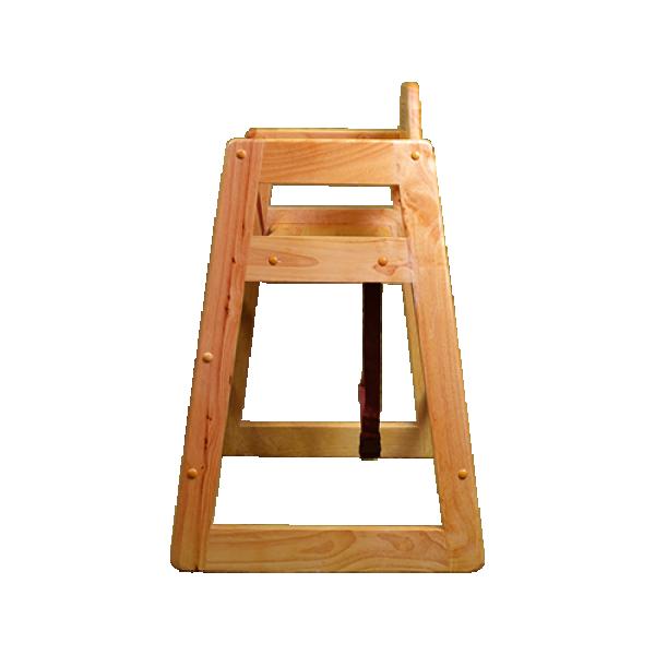 high chair side