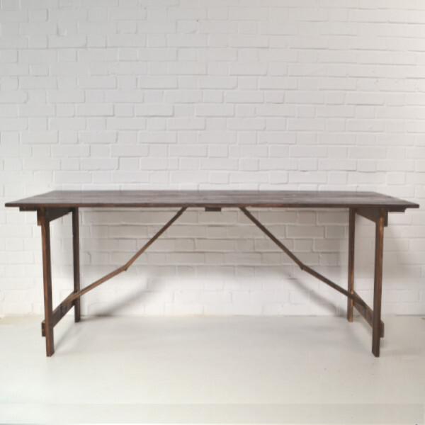 hire vintage trestle table london