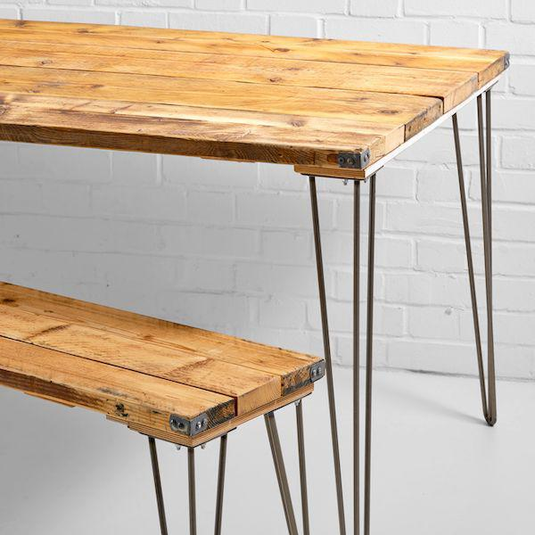 hoxton bench and table hire