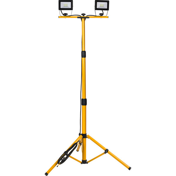 led twin work light hire