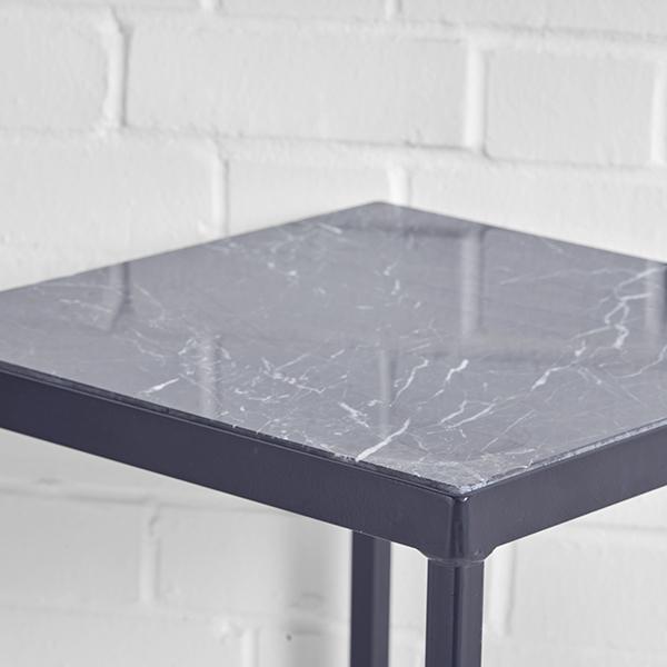lisbon high table black top