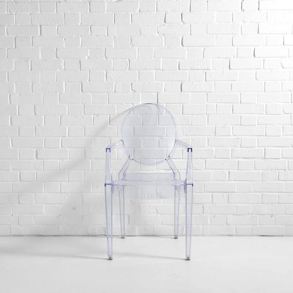 louis ghost chair hire f
