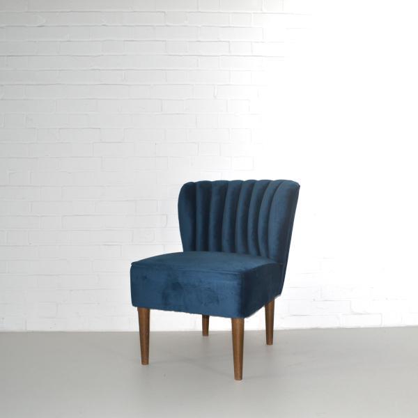 mermaid chair hire blue