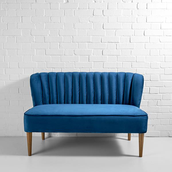 mermaid sofa hire blue