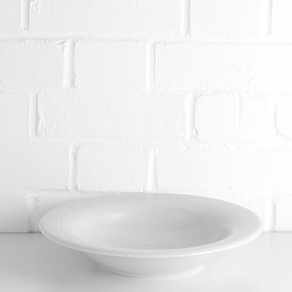 porcelite pasta plate hire