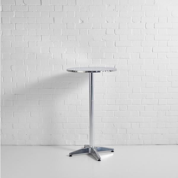 poseur table aluminium