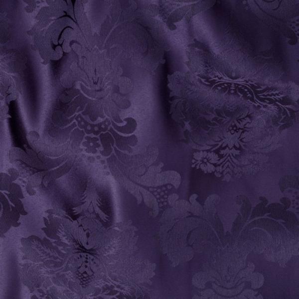purple bentley damask linen 130r