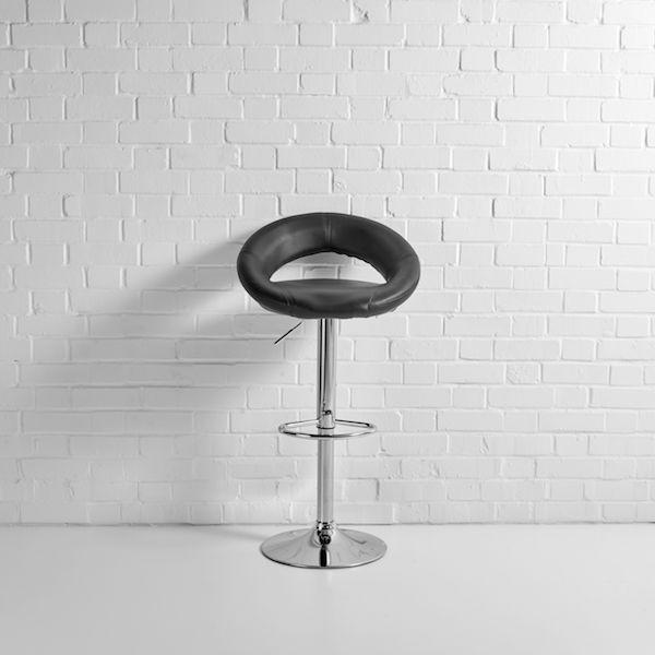 saturn bar stool hire black f