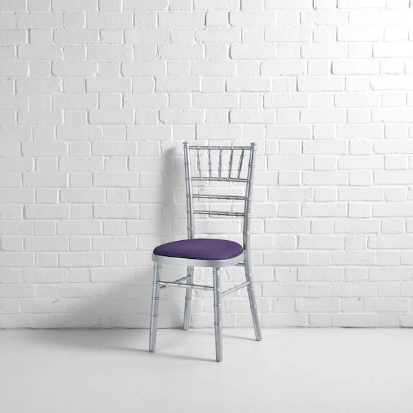silver chiv purple seat