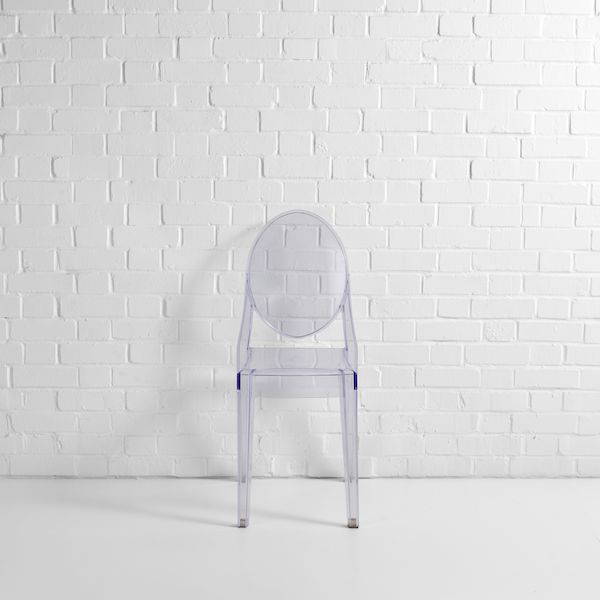 victoria ghost chair hire f