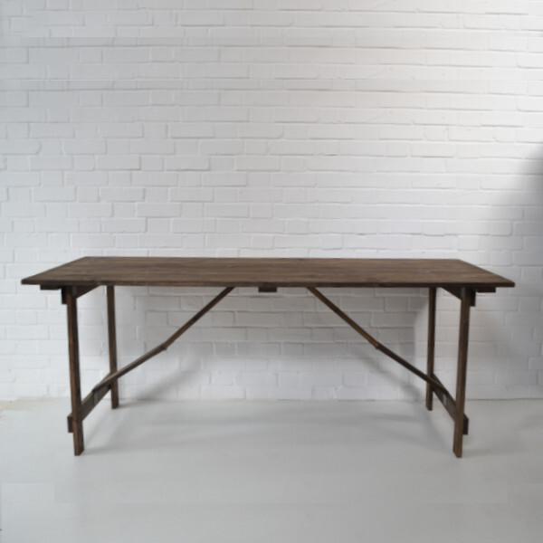 vintage trestle table hire london