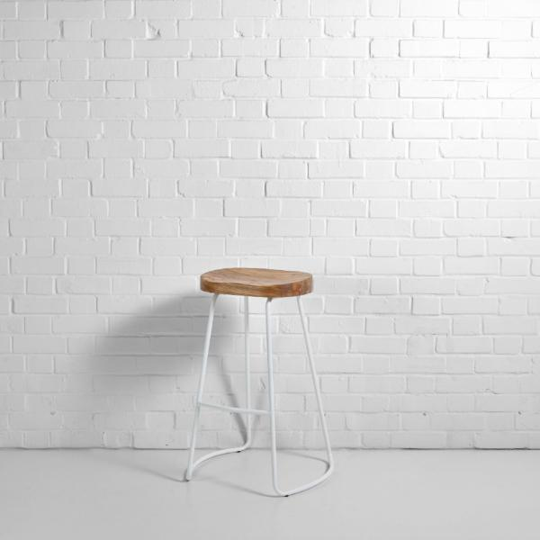 white milan stool hire