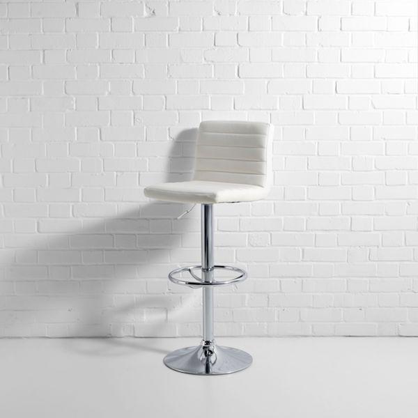 white tornado bar stool