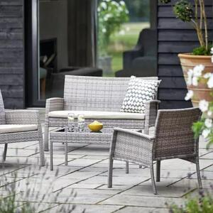 4 Seat Rattan Furniture Set Hire