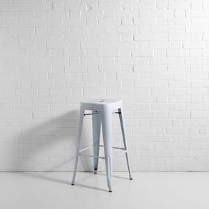 Bistro Bar Stool White