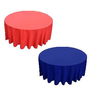 Coloured Round Linen (118R)