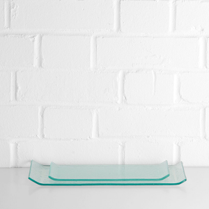Glass Serving Platter Large