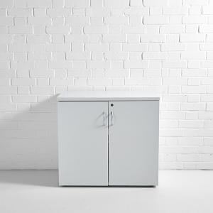 Lockable Cupboard White