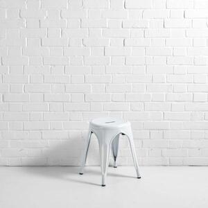 Low Metal Stool