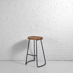 Milan Stool Black