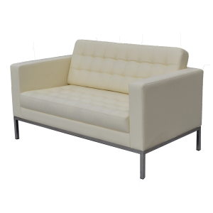 Monaco 2 Seater Sofa Cream