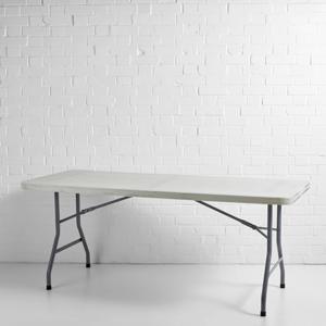 Plastic Trestle Table (6ft)