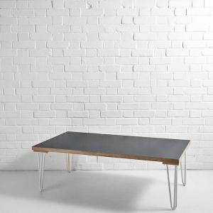 Scandi Coffee Table Black Hire London