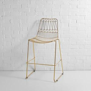 Steel Simplicity Wire Bar Stool