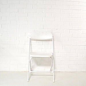 White Folding Chair Hire