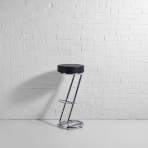 Black Z Bar Stool Hire