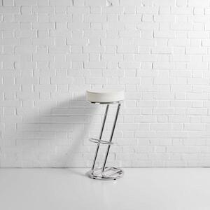 Z Bar Stool White