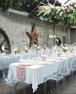 outdoor wedding furniture hire
